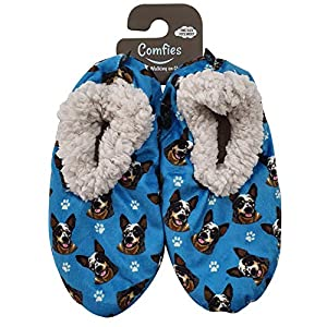 Australian Cattle Dog Super Soft Women's Slippers - One Size Fits Most - Cozy House Slippers - Non Skid Bottom - perfect for Australian Cattle Dog gifts 5