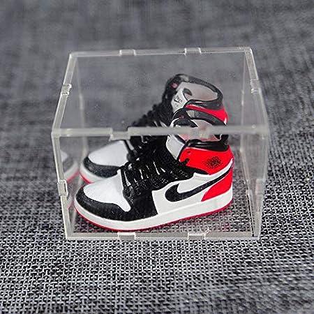 Regalos 14 Manualidades Zapatos De Baloncesto 3D Tridimensionales Adornos para Bolsos De Pareja Zapatos Peque/ños Zapatillas Creativas ahliwei Llavero