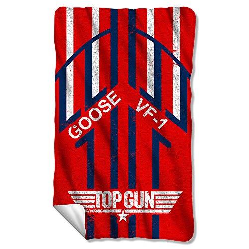 Top Gun - Goose Fleece Blanket 35 x 57in ()