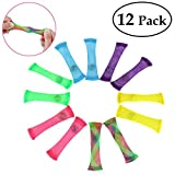 BESTOYARD Fiddle Toys Fidget Toys Sensory Toys Fidgets Stress Anxiety Relief Toys Helps with Autism ADHD OCD for Children and Adults 12pcs