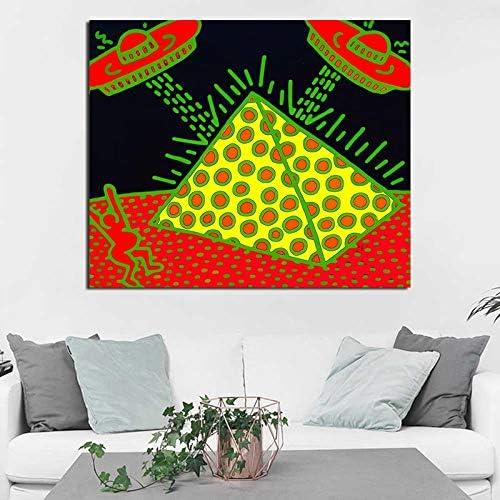 YuanMinglu Pintura de Lienzo impresión Sala de Estar decoración del hogar Pintura al óleo Moderna Pared Arte salón Cartel Imagen Pintura sin Marco 72x90cm: Amazon.es: Hogar