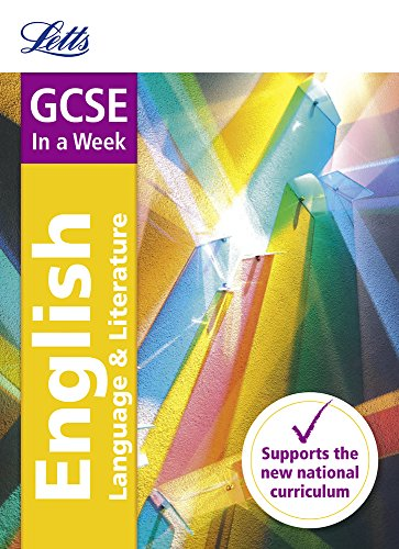 Letts GCSE In a Week - New 2015 Curriculum – GCSE English: In a Week (Letts GCSE 9-1 Revision Success)