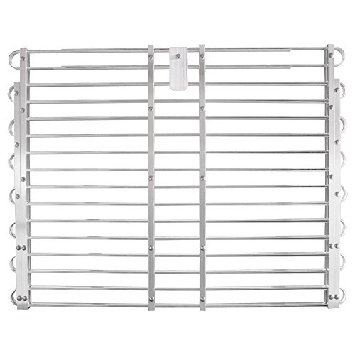 Adjust-A-Grate 30-33 in. x 60-66 in. Adjustable Aluminum Window Well Grate by AdjustAGrate (Image #1)