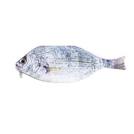 yjydada Creative mar pescado forma lápiz caso bolsa de ...