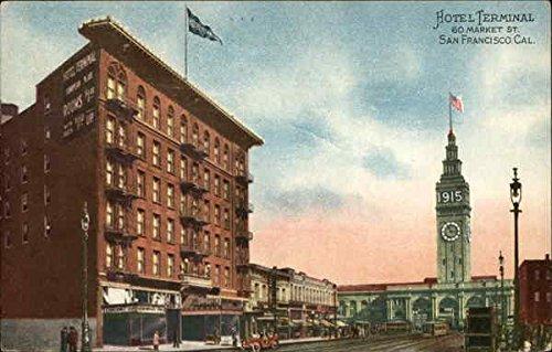 Hotel Terminal San Francisco, California Original Vintage - San Terminal Francisco