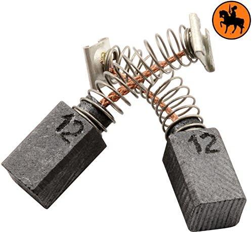 2.4x2.8x4.7 6,5x7,5x12mm Avec arr/êt automatique Balais de Charbon pour HITACHI DH 24PD3 marteau