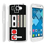 Alcatel One Touch Fierce 2 , Slim Sleek Plastic Case Hard + Screen Protector + Stylus Pen White Pop Icon A564C by MINITURTLE – Game Controller Review