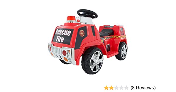 Perfect For Boys Toys Age 8 : Amazon.com: ride on toy fire truck for kids battery powered ride