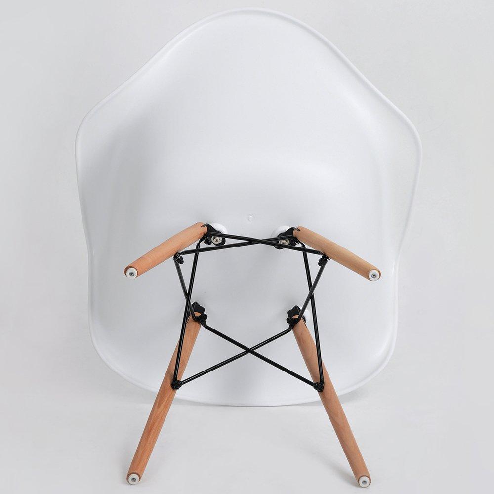 4er Set Esszimmerstuhl Retro Stuhl Beistelltisch Mit
