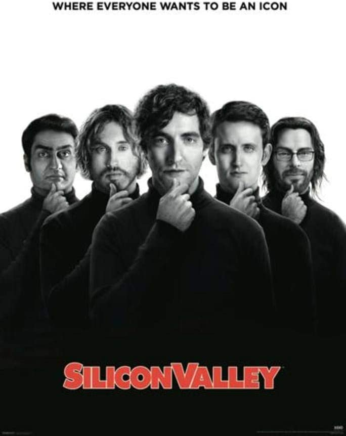 SILICON VALLEY TECH ME TO MOON Poster Wall Art Home Photo Print 26x36 inches