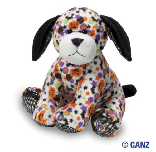 Webkinz Spooky Pup with Trading -
