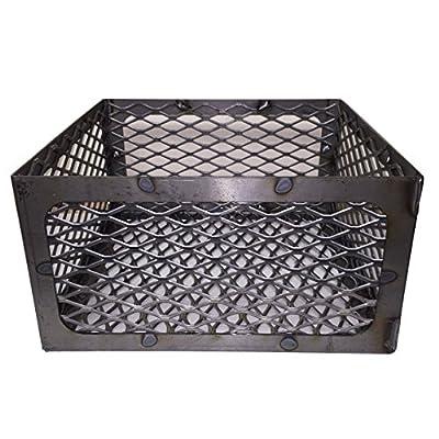 LavaLock® Total Control BBQ Charcoal Basket Smoker Pit (fire Box) 15 x 15 x 8 Horizon New Braunfel Old Country