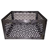 Total Control BBQ Charcoal Basket smoker pit (fire box) 15 x 15 x 8 Horizon New Braunfel Old Country