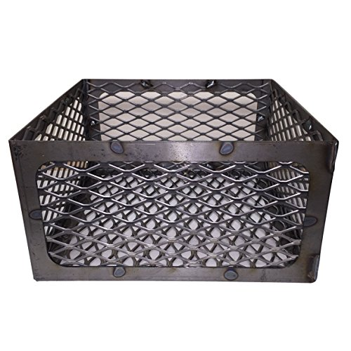 LavaLock® Total Control BBQ Charcoal Basket Smoker Pit (fire Box) 15 x 15 x 8 Horizon New Braunfel Old Country ()
