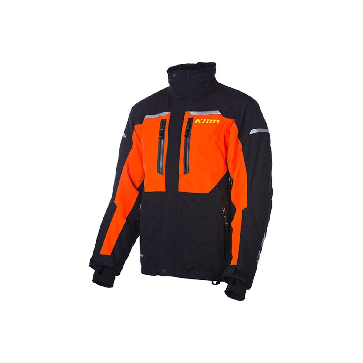 Klim Keweenaw Parka Men's Ski Snowmobile Jacket - Orange / Medium