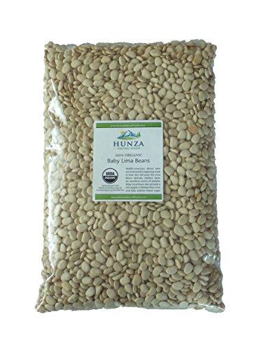 Hunza Organic Baby Lima Beans (5 lbs)