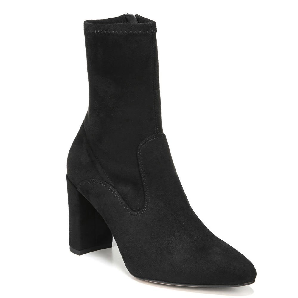 artist Collection Fancy Women's Boot 7.5 B(M) US Black-Suede