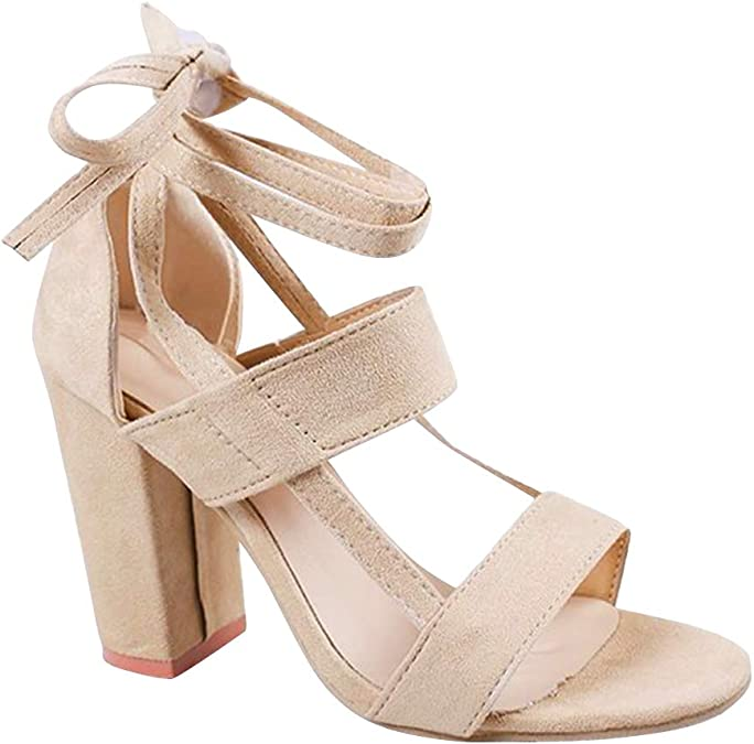 Aiweijia Girls Latin Dance Shoes Soft Low Heel Shoes Ankle Strap Practice Shoes