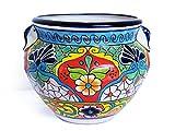 Talavera Ceramic Vase Large Potter Decorative Home Kitchen Design And Patio Garden Pottery