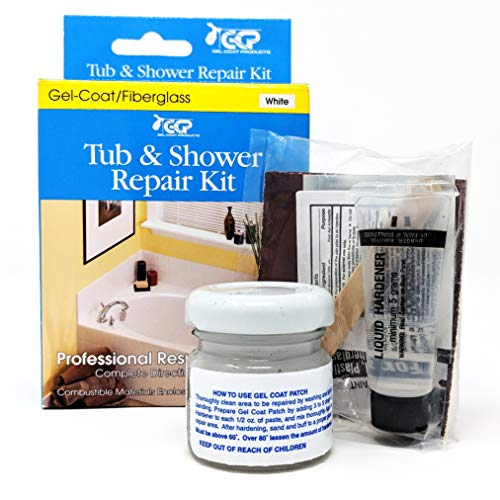Tub and Shower Repair Kit - White