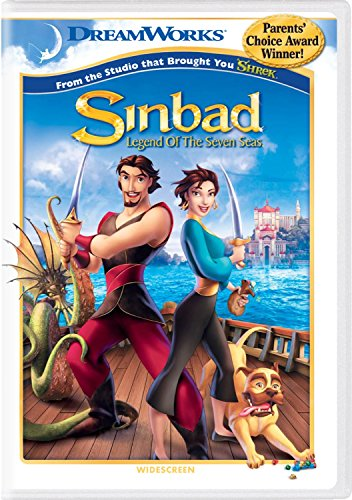 DVD : Sinbad: Legend Of The Seven Seas (Widescreen, Repackaged)