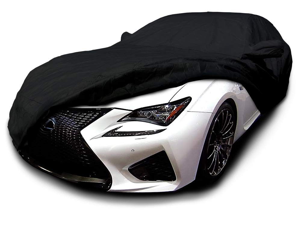 CarsCover Custom Fit 2015-2019 Lexus RC200t RC300 RC350 RCF Sport Car Cover Heavy Duty Weatherproof Ultrashield Black Covers RC 200t 300 350 RC-F