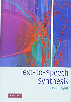 Text-to-Speech Synthesis: Paul Taylor: 9780521899277: Amazon