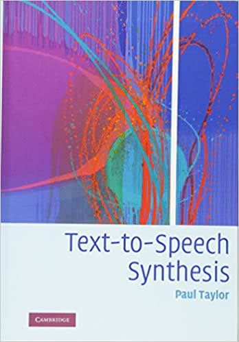 Buy Text-to-Speech Synthesis Book Online at Low Prices in