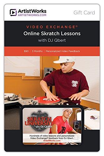 ArtistWorks Gift Card - Online Skratch University with Dj Qbert