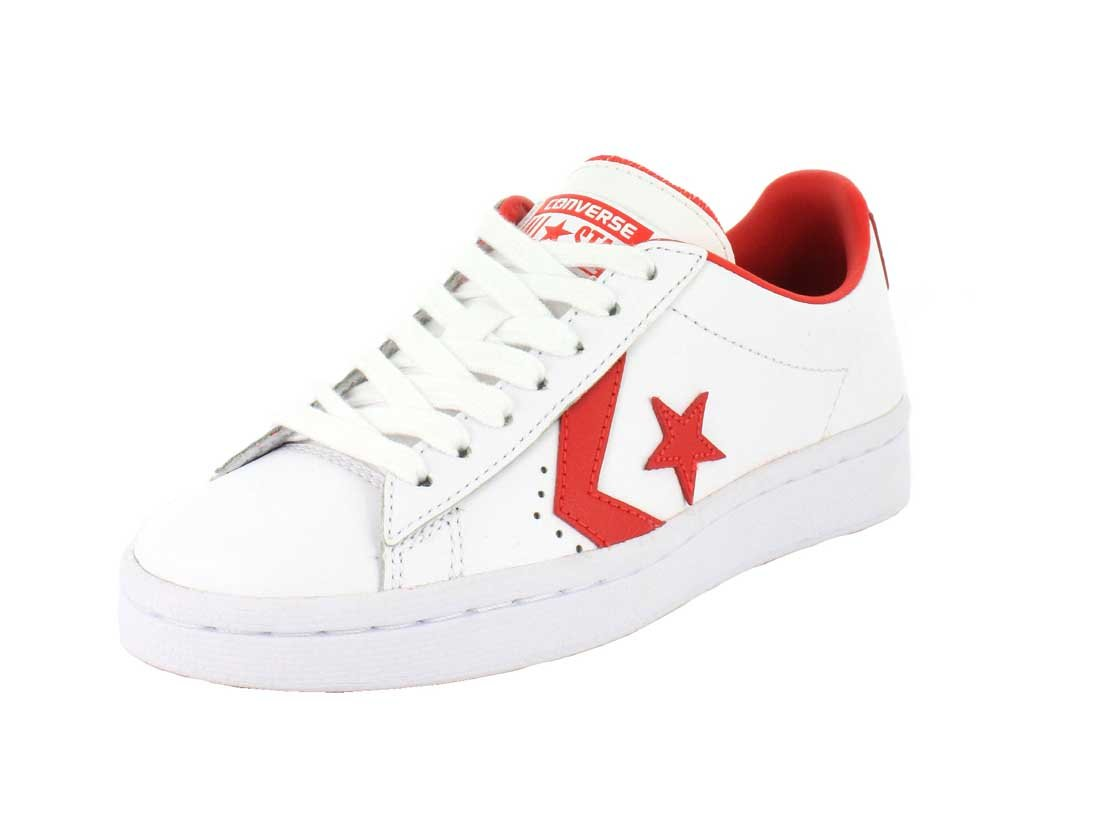 Converse Womens Pro Leather LP Sneaker B07286CD74 13 B(M) US Women / 11 D(M) US Men|White/Casino
