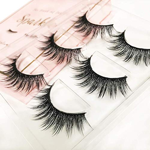 The Book of Lashes: Volume 2 - Sparkle - (Reusable False Eyelashes) - (Cruelty Free) - (3 Pairs) from The Book of Lashes