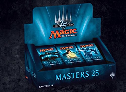 Magic The Gathering MASTERS 25 MTG Booster Box Sealed English ( 24 Packs )