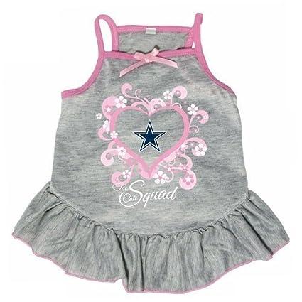 12a849065a0 Amazon.com : NFL Dallas Cowboys Too Cute Pet Dress : Sports & Outdoors