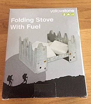 Genuine British Army Hexamine Solid Fuel Stove/Cooker