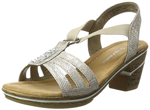 Sandals 2720501 WoMen Beige Supremo Beige Ankle Strap IFTnwCwq