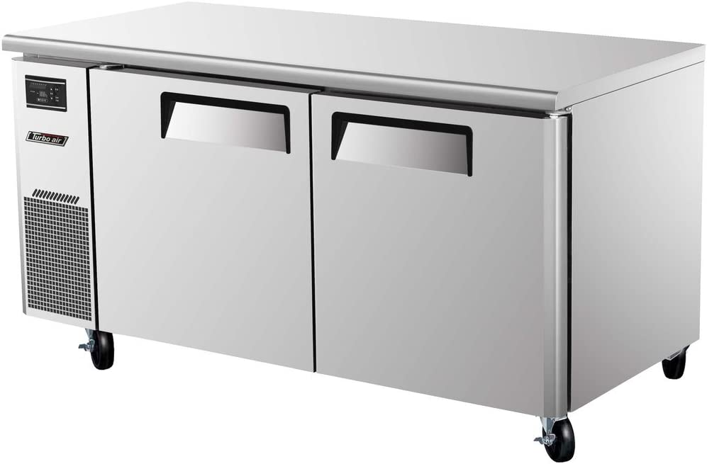 JUR60 15 cu. ft. J Series Undercounter Refrigerator with Efficient Refrigeration System Side Mount Compressor Adjustable Shelves and High Density PU Insulation: Stainless Steel