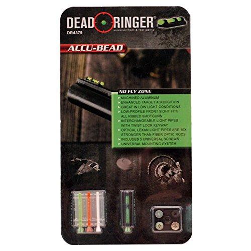 Universal Shotgun Sight - Dead Ringer Universal Shotgun Sight Accu-Bead, Low Profile, Easy Install