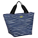 SCOUT Weekender Travel Tote Carry On Bag, Internal Zippered Pouch, Water Resistant, Zips Closed, Midnight Matisse