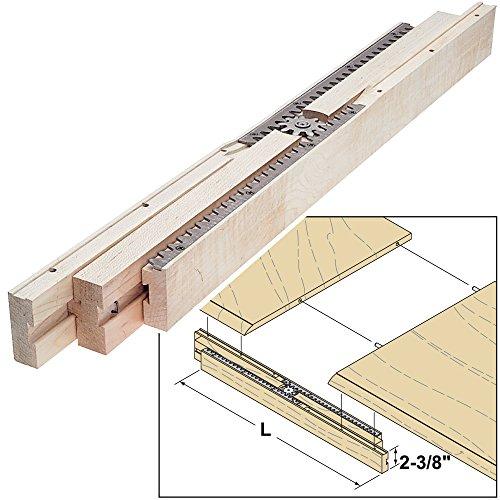 (Woodworker's Supply, Inc. 824825, Hardware, Table, Assembly Hardware, Equalizer Table Slides 38