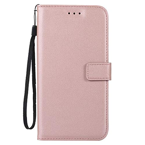 Abtory LG Leon Protective Case, [Wallet Stand] [Slim Fit] Heavy Duty Protective Shock Resistant Flip Cover Wallet Case for LG Leon LTE C40 / LG Tribute 2 Rose - Rose C40