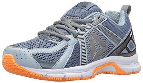 (Reebok Women's Runner MT Running Shoe, Brave Blue/Stonewash/Gable Grey/White/Fire/Pewter, 6 M US)
