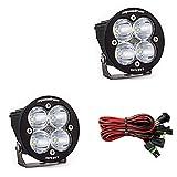 Baja Designs Squadron-R Sport Pair ATV LED Light Spot Led Pattern