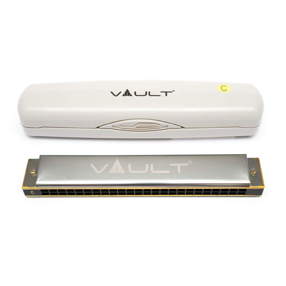 Vault HA1020 Key C 24-Hole Beginner Harmonica product image