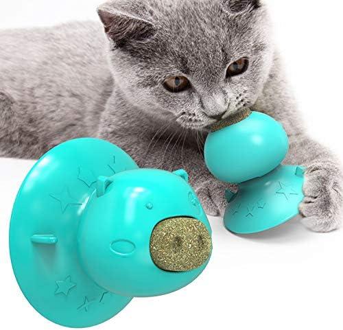猫 おもちゃ 猫キャットニップ 噛むおもちゃ 舐める飴 薄荷ボール おやつ 猫薄荷 猫遊び用 安全無毒 運動不足やストレス解消 肥満解消 青の子豚