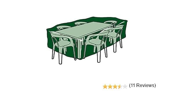 Biotop B2222 - Funda Rectangular Cubre mesas y sillas de Polietileno: Amazon.es: Jardín