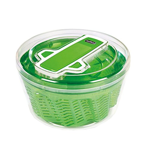 Small Salad Spinner (ZYLISS Swift Dry Salad Spinner, Small, Green)