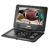 Docooler 10. 1 Inches Swivel Screen DVD/CD/MP3 Player Portatil 16:9 TFT Screen Pixe 1024 600 Support SD / USB / AV for Gamepad TV US Plug GKNUO GKN-101