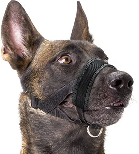 Muzzle Nylon Padding Adjustable Black product image
