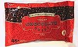 vegan baking chips - 45% Cocoa Vegan Chocolate Chips Dairy Free Kosher Gluten Free Nut Free (1 Pack)