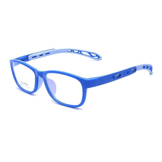 7b1874ddf9d89 Juleya Kinder Gläser Rahmen - TR + Silikon - Professionel Kinder Brillen  Clear Lens Retro Reading Eyewear für Mädchen Jungen: Amazon.de: Bekleidung